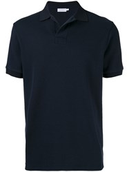 Sunspel Classic Polo Shirt Blue