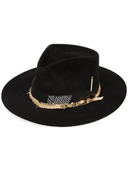 Nick Fouquet 'The Belcampo' Hat Women Beaver Fur 57 Black