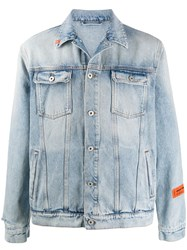 Heron Preston Logo Patch Denim Jacket 60