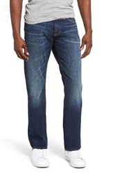Jean Shop Men's Big And Tall Slim Straight Leg Selvedge Jeans Moon Shadow