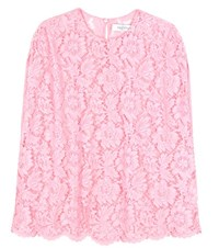 Valentino Lace Blouse Pink
