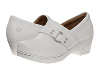 Nurse Mates Dakota White Women's Clog Shoes