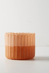 Anthropologie Palorosa Basket Orange