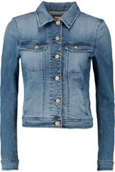 7 For All Mankind Denim Jacket Light Denim