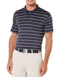 Callaway Performance Stripe Polo Peacoat