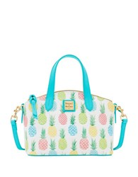 Dooney And Bourke Tiki Ruby Coated Canvas Bag White