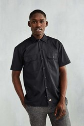 Dickies Mechanic Short Sleeve Work Shirt Black