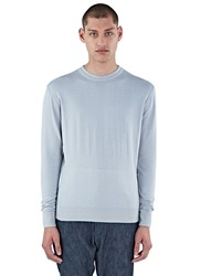 Aiezen Crew Neck Long Sleeved Top Grey