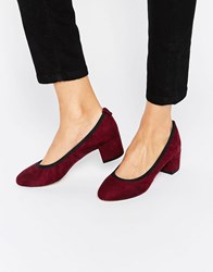 Asos Simeon Heels Oxblood Brown