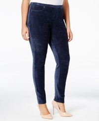 Styleandco. Style Co. Plus Size Corduroy Leggings Only At Macy's Industrial Blue