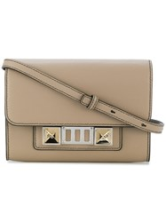 Proenza Schouler Ps11 Wallet With Strap Calf Leather Nude Neutrals