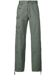 Jacquemus Cargo Trousers Green