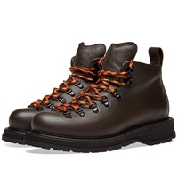 Buttero Zeno Leather Hiking Boot Brown