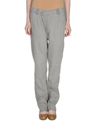 Get Lost Casual Pants Light Grey