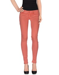 Met Trousers Casual Trousers Women Rust