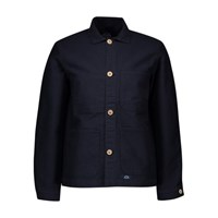 Bleu De Paname Counter Jacket With Patch Bleu De Paname