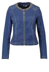 Gaudi Betty Denim Jacket Blue Denim
