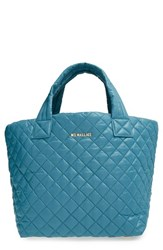 M Z Wallace Mz Wallace 'Small Metro' Quilted Oxford Nylon Tote Green Jade Quilted