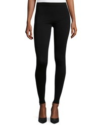 Joseph Stretch Wool Leggings Black