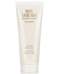 White Diamonds By Elizabeth Taylor Perfumed Body Lotion 6.8 Oz.