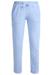 Deha Tracksuit Bottoms Blau Melange Mottled Blue