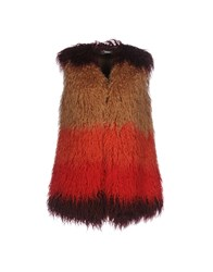 Fairly Coats And Jackets Faux Furs Camel
