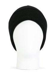 Dsquared2 Classic Ribbed Beanie Black