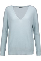 Theory Adrianna Cashmere Sweater Sky Blue