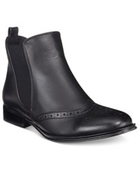 Wanted Saba Chelsea Booties Women's Shoes Black
