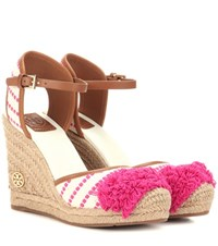 Tory Burch Shaw 90 Wedge Espadrilles Multicoloured