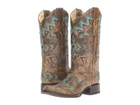 Corral Boots E1024 Bronze Turquoise Women's Black