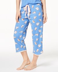 By Jennifer Moore Printed Cropped Pajama Pants Created For Macy's Lounging Dog