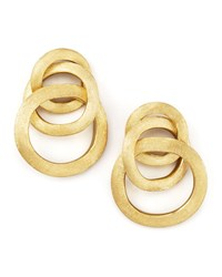 Jaipur Link Gold Large Twist Earrings Marco Bicego