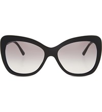 Giorgio Armani Ar8082 Cat Eye Sunglasses Black