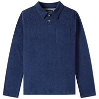 Howlin' Long Sleeve Soft Machine Polo Blue