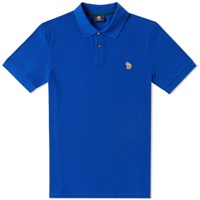 Paul Smith Regular Fit Zebra Polo Blue
