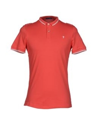 Trussardi Jeans Polo Shirts Coral