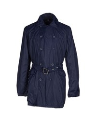 Armata Di Mare Coats And Jackets Full Length Jackets Men Dark Blue