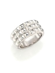 Stephen Webster Quilted Sterling Silver Ring
