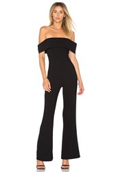 By The Way. Aubrey Off Shoulder Jumpsuit Black