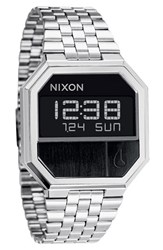 Nixon Men's 'The Re Run' Stainless Steel Bracelet Watch
