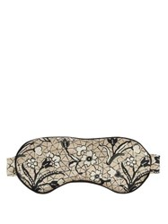 Morpho Luna Jemma Mirage Print Eye Mask Beige Multi