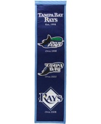 Winning Streak Tampa Bay Rays Heritage Banner Team Color