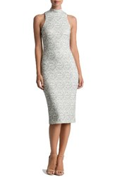 Dress The Population Women's Norah Lace Midi