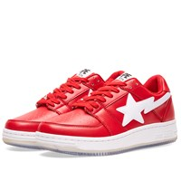 A Bathing Ape Shark Picture Sole Bape Sta Red