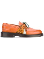 Maison Martin Margiela No Gender Loafers Women Calf Leather Leather 38 Brown