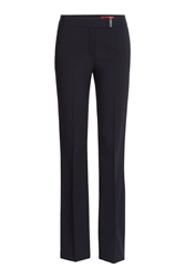 Hugo Wool Trousers Blue