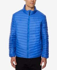 32 Degrees Men's Light Thin Packable Bomber Jacket A Macy's Exclusive Royal Blu
