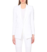 Sandro Voila Slim Fit Blazer White