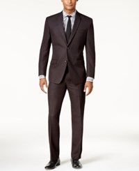 Marc New York By Andrew Men's Classic Fit Black Micro Grid Suit